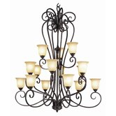Taste of Elegance 15 Light Chandelier