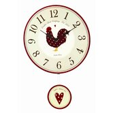 Country Kitchen Pendulum Wall Clock