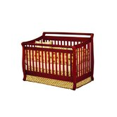 Athena Amy Convertible Crib with Toddler Rail in Cherry