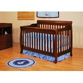 Athena Alice Convertible Crib with Toddler Rail in Cherry