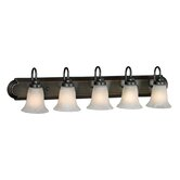 Brookfield  Vanity Light in Oil Rubbed Bronze