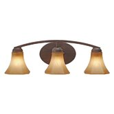 Accurian Vanity Light in Rubbed Bronze