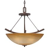 Accurian 3 Light Convertible Inverted Pendant