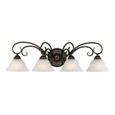 Homestead Ridge  Vanity Light in Rubbed Bronze