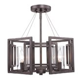 Marco 4 Light Convertible Semi-Flush Mount