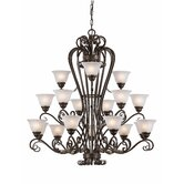 Monte Carlo 18 Light Chandelier