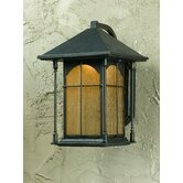 One Light Outdoor Large Wall Lantern in Oil Rubbed Bronze