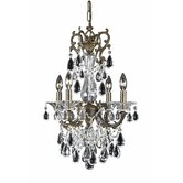 Renaissance 4 Light Mini Chandelier