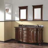 "Provence 61"" Bathroom Vanity in Antique Cherry"