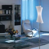 Twister Floor Lamp in White