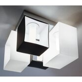 Domino Four Light Flush Mount  /  Wall Sconce