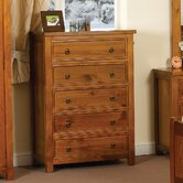 Curlew Chest of 5 Drawers