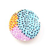 Dalia_Rainbow Round Floor Cushion 20""
