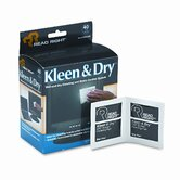Read Right Kleen &amp; Dry Screen Cleaner Wet Wipes, Cloth, 5 X 5, 40/Box
