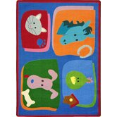 Kid Essentials My Favorite Animals Kids Rug