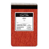 Gold Fibre Retro Writing Pad, Medium Rule, 5 x 8, Ivory, 80-Sheets/Pad