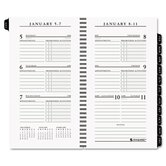 Executive Weekly Pocket Planner Refill, 3-1/4 x 6-1/4, 2013