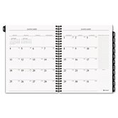 Executive Weekly/Monthly Planner Refill with Hourly Appointments, 6-7/8 x 8-3/4, 2013