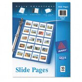 Photo Pages for Twenty 2 X 2 Slides, 3-Hole Punched (10/Pack)
