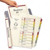 Ready Index Contents Dividers, 10-Tab, 1-10, Letter, Multicolor, Set of 10