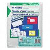 Pres-A-Ply Inkjet Address Labels, 2000/Pack