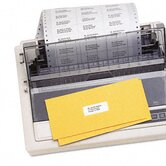 Dot Matrix Printer 3 Across Address Labels, 3000/Box