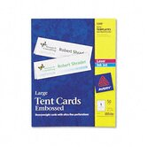 Tent Cards, 1 Card/Sheet, 50 Cards/Box