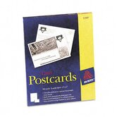 Laser Postcards, Two Per Sheet, 100 Cards/Box