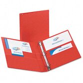 Heavy-Duty Vinyl Ezd Ring Reference Binder, 1&quot; Capacity