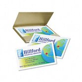 Inkjet Matte Business Cards, 2 x 3-1/2, White, 10 per Sheet, 400 Cards per Box