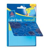 "Label Book, Circles, 80/PK, BE 1""X3"", NEGN/ 2""X3"" NEBE"