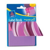 "Label Book, Wavy, 80/PK, BE, 1""X3"", NEGN/ 2""X3"" NEBE"
