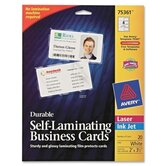 Self Adhesive Laminate Business Card (Pack of 20)