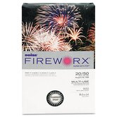 Fireworx Colored Paper, 20 lbs., 8-1/2 x 14, Flashing Ivory, 500/Ream