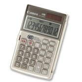 Handheld Calculator, 12-Digit, Dual Power, 3-1/8&quot;x4-3/4&quot;x5/8&quot;