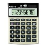 "8-Digit Calculator, Dual PoWhiter, 4-1/8""x5-1/2""x1-1/3"", Black"