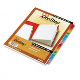Traditional Onestep Index System, 26-Tab, A-Z, Letter (Set of 26)