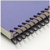 "Carla Craft 12"" 18mm Binding System Spiral Ring in Royal Purple"