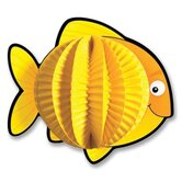 "Pop-Its Fish, 3-D, 6""x6"", 3/PK, Yellow"