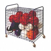 Lockable Ball Storage Cart, 24-Ball Capacity