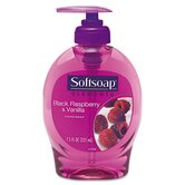 Softsoap Elements Hand Soap, Black Raspberry and Vanilla Scent, 7.5 Oz Pump Bottle, 1 Each