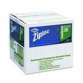 Ziploc Resealable Sandwich Bags, 1.2 ml, 6-1/2 x 6, Clear, 500/Ctn
