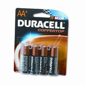 Coppertop Alkaline Batteries, AA, 8/pack