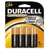 Coppertop Alkaline Batteries, AA, 10/Pack