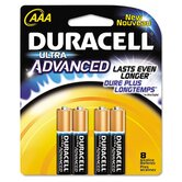 Ultra Alkaline Batteries, AAA, 8/pack