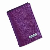 Low Profile Personal Card Case, 36-Card Capacity, 2 3/4 x 4, Red