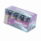 Eveready Gold Alkaline Batteries, C, 8 Batteries/Pack