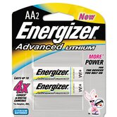 Advanced Lithium Batteries, Aa, 2/Pack