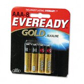 Gold Alkaline Batteries, AAA, 8/pack