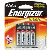 AAA Max Alkaline Battery (Set of 8)